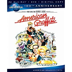 American Graffiti [Blu-ray + DVD + Digital Copy] (Universal's 100th Anniversary)