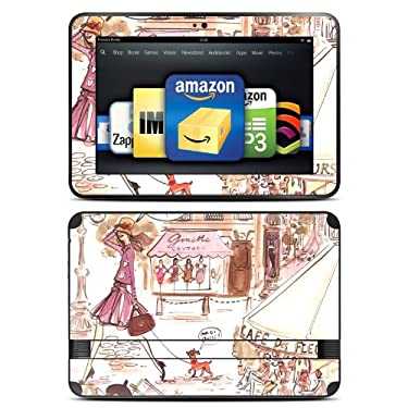 "Kindle Fire HD 8.9"" Skin Kit/Decal - Paris Makes Me Happy - Izak (will not fit HDX models)"