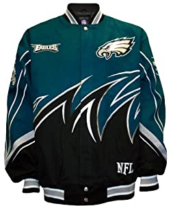 NFL Philadelphia Eagles Slash Jacket Men's by MTC Marketing