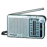 Panasonic FM / AM 2 Band Radio RF-P150A-S Silver