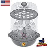 #10: Trumom (USA) Electric Steam Sterilizer (6 Bottles) And Baby Food Steamer (Steams Vegetables And Other Baby Food Naturally)