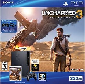 PS3 320 GB Uncharted 3 Bundle - Bundle Edition