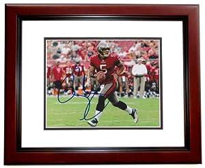 Josh Freeman Autographed Hand Signed Tampa Bay Buccaneers 8x10 Photo MAHOGANY CUSTOM... by Real Deal Memorabilia