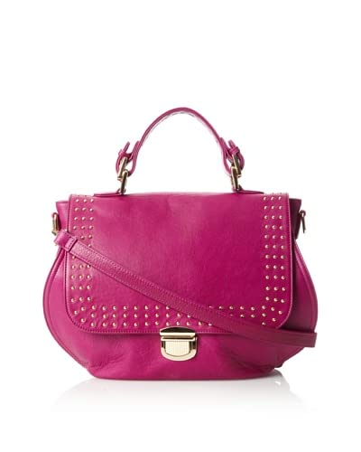 HAYVEN Women's Carla Top Handle Satchel, Chianti, One Size As You See