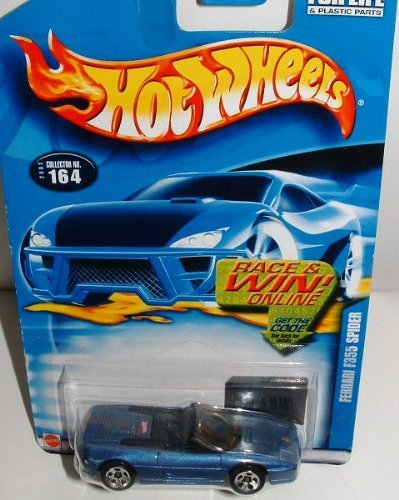 Hot Wheels Ferrari F355 Spider 2002 164 die-cast 1:64 scale - 1