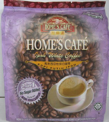 Home's Cafe White Coffee Ipoh (No Sugar Added)