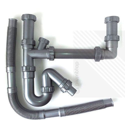 kitchen-sink-double-waste-pipes-15-bowl-universal-u-bend-plumbing-kit-new
