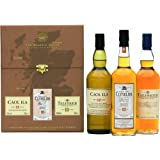 The Brown Classic Malts Collection - 3 x 20cl Malt Whisky Bottles