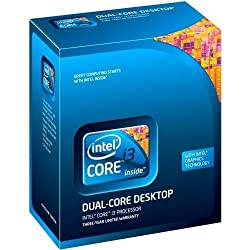Intel Core i3-550 Processor 3.2 GHz 4 MB Cache Socket LGA1156