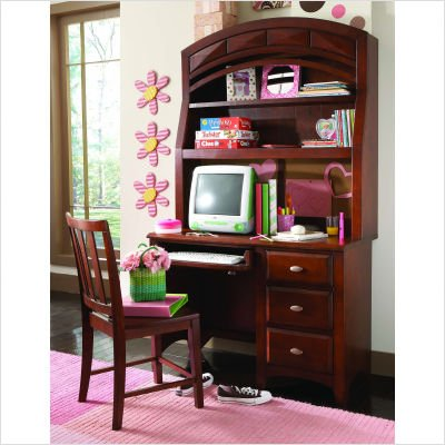 Buy Low Price Comfortable Opus Designs 445-10-341 / 445-10-544 / 445-10-700 Sidney Merlot Student Computer Desk with Hutch (B001G9QT7W)