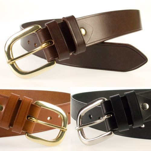 Mens High Quality Leather Belt 1.5