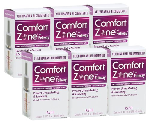 Comfort Zone with Feliway Diffuser Refill, 6 Pack images