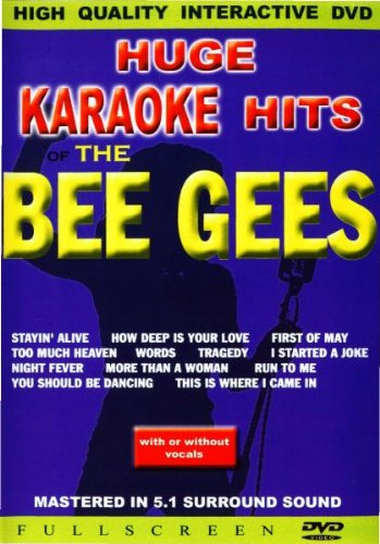 Karaoke - Huge Karaoke Hits: The Bee Gees, DVD