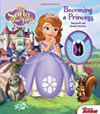 Disney Sofia the First Becoming a Princess: Storybook and Amulet Necklace (Storybook with Jewelry)