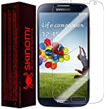 Skinomi® TechSkin - Samsung Galaxy S4 Screen Protector Premium HD Clear Film with Lifetime Replacement Warranty / Ultra High Definition Invisible and Anti-Bubble Crystal Shield (Model(s): I9500)