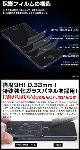 【NET-FLXPL36】 衝撃に強い!日本製強化ガラス使用 耐衝撃 保護フィルム プレミアムプロテクター保護シート 硬度9H 0.33mm 気泡レス 防指紋 XPERIA Z (SO-02E) 株式会社 ASK TRADING
