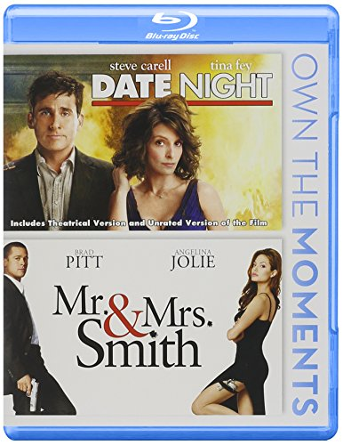 Date Night / Mr & Mrs Smith Double Feature Blu-ray