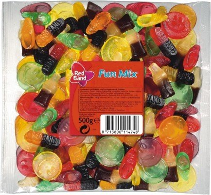 Red Band Fun Mix 500g