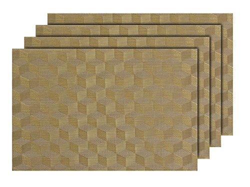 4-pz-di-tovagliette-americane-decorative-dorato-ts-84-set-da-tavola-in-pvc-di-alta-qualita-misure-45