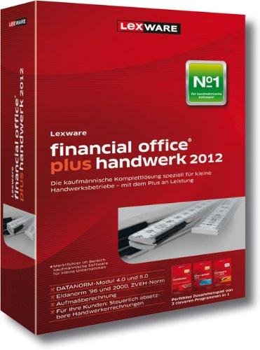 Lexware Financial Office Plus Handwerk 2012 Update (Version 12.00) (ben&#246;tigt Zusatzupdate ab 01.06.2012), PC