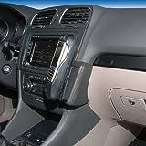KUDA Telefon Konsole passend f�r VW Golf VI ab 10/08 Variant ab 09/09 Mobilia / Kunstleder schwarz