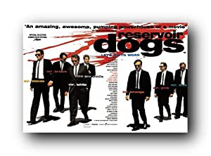 Reservoir Dogs Uk Poster New Movie Mr Tarantino St4310 College Poster Print, 36x24