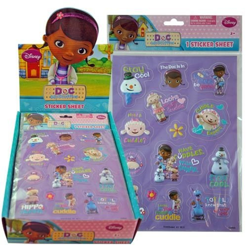 Doc McStuffins Raised Sticker Sheet : sheet