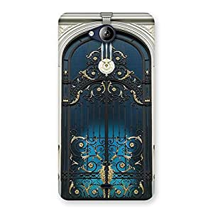 Premium Royal Door Print Back Case Cover for Canvas Play Q355
