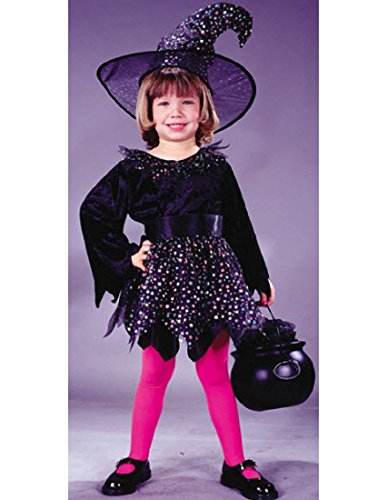 Fun World Baby-girls Glitter Witch Costume