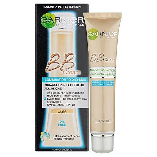 Garnier Skin Naturals BB Cream Senza Oli, Tinta Chiara, 40 ml