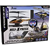 Silverlit Heli Xpress 3-Channel Remote Control Gyro Helicopter with Winch and Cargo (Assorted Colours)