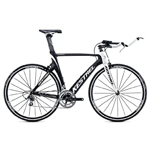 2014 Kestrel Talon Tri-Shimano 105 Carbon Fiber 55CM Bike 3035174655 White/Black