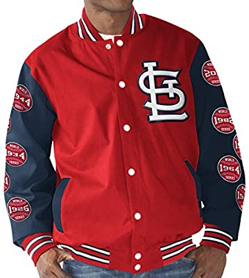 "St. Louis Cardinals MLB ""Power Hitter"" World Series Commemorative Varsity Jacket"