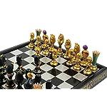 Chess Royal 30 European Wooden Handmade International Set, 11.81 x 1.97-Inch
