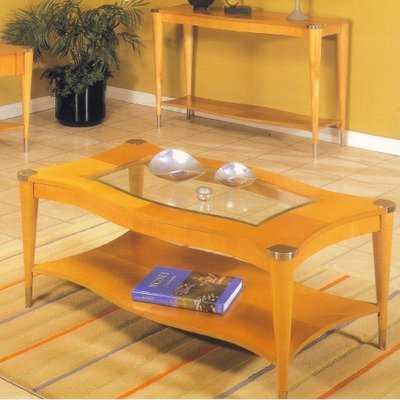 Buy Low Price Cascade Pie Shaped Coffee Table In Natural T1884 65b T1884 65t Coffee Table
