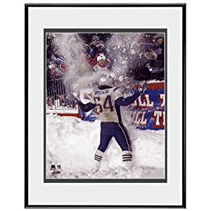 Photo File New England Patriots Tedy Bruschi Framed Photo by Photo File