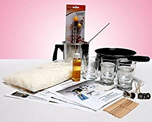 """Soy """"ESSENTIALS"""" - Scented Candle Making Kit - a clean burning, 100% pure white candle wax. Detailed color instructions included. from General Wax & Candle Company"""