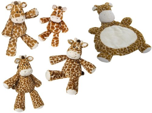 Mary Meyer Giraffe Family With Baby Mat front-996646