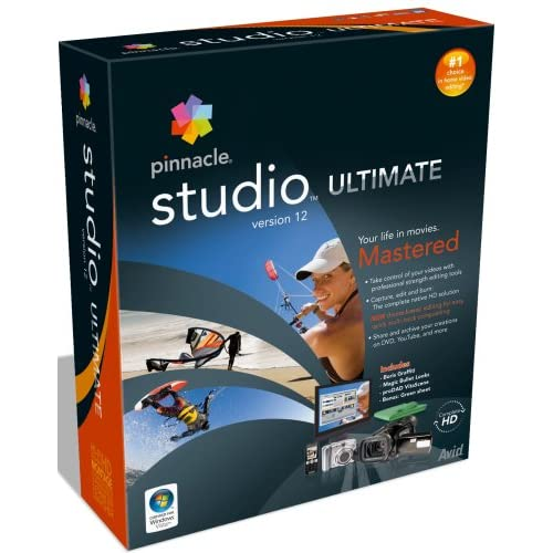 Pinnacle Studio Ultimate v12.0.0.6163