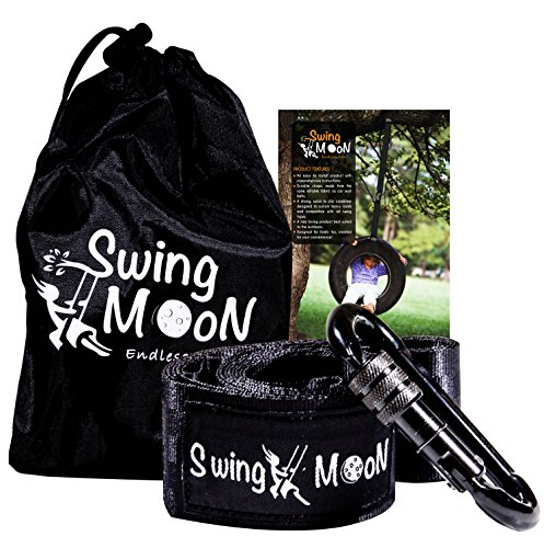 Tree-Swing-Hanging-Kit-1000-lbs-Single-6-ft-Strap-with-Heavy-Duty-Carabiner-Easy-to-install-for-Spinner-Tire-Disc-Web-Hammock-Swings-Safe-For-Toddlers-and-Kids-Satisfaction-Guaranteed