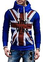 RONIDA - Sweat à capuche - UK flag - RONIDA 1003