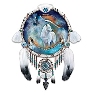 Native American Inspired Dreamcatcher Collector Plate: Souls Of The Night by The Bradford Exchange