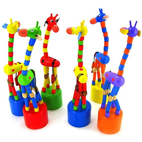 Dancing Stand Colorful Rocking Giraffe Wooden Toy For Kids Intelligence (3 Years Old Girl Bike compare prices)