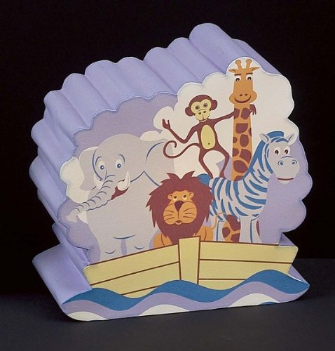 Children's Quality Designed Noah's Ark Room Night Light - 1