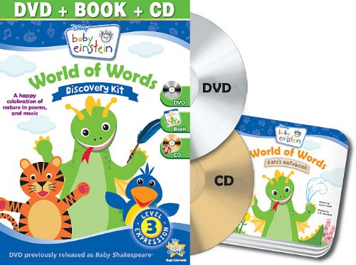 Baby Einstein: World Of Words Discovery Kit (Dvd / Cd / Board Book) front-723831
