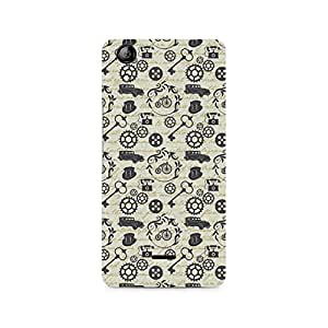 Ebby Vintage Machinery Premium Printed Case For Micromax Canvas Selfie 2 Q340