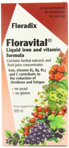 Floravital Iron Vitamin Formula Liquid 500ml 2095289 By Floradix