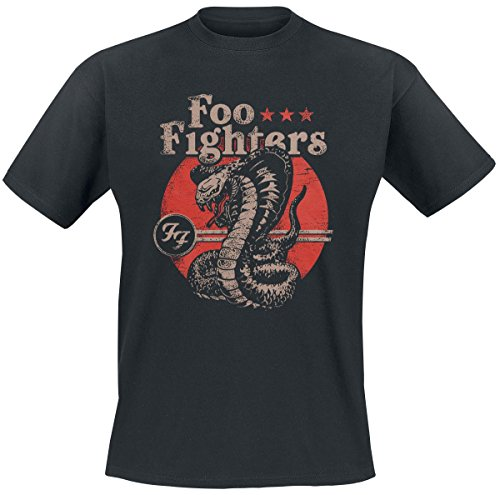 Foo Fighters Snake T-Shirt nero L