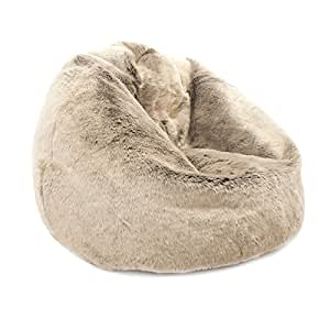 bean bag bazaar icon gros pouf fauteuil poire billes en. Black Bedroom Furniture Sets. Home Design Ideas