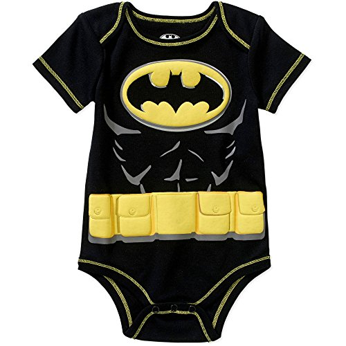 Batman-Infant-Costume-bb-Body-Body-sans-manches-pour-femme